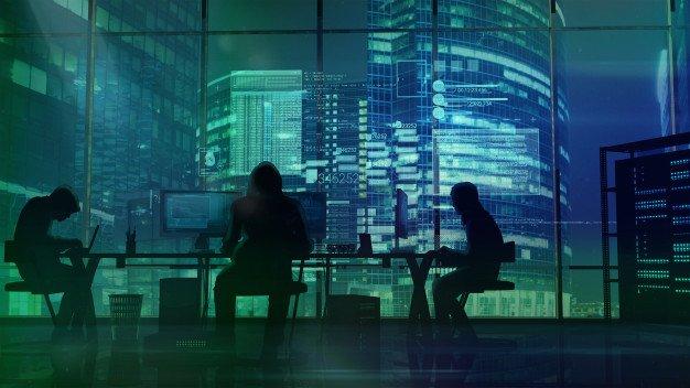 hackers-work-office-green-office-buildings_158582-347
